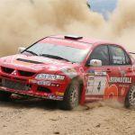 Mitsubishi Lancer EVO-Vidal, Lema-Rally de tierra de Guijuelo 2006-Hisparally-013