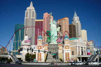 Las Vegas y Cañon del Colorado, Estados Unidos