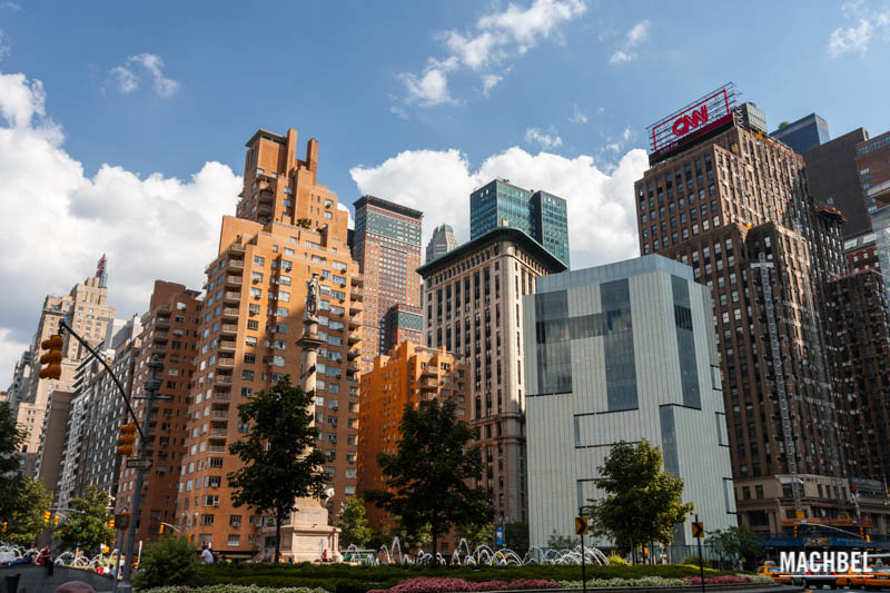 Columbus circle en New York