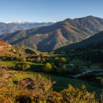 Alto de la Cobertoria, mirador en Asturias, España