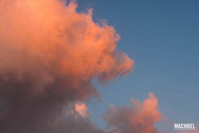 Nube con forma de león