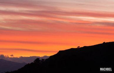 Atardecer desde el mirador del Fito, Asturias, España