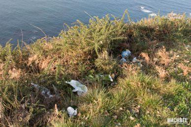 Basura en lugares naturales, Asturias