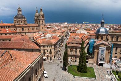 Visita a Salamanca, Castilla y León, España