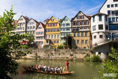 Visita a Tubingen, pueblo en Alemania