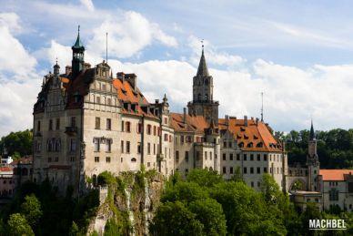 Castillo de Hohenzollern en Sigmaringen, Alemania