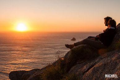 Finisterre, el cabo del fin del mundo en Galicia, España
