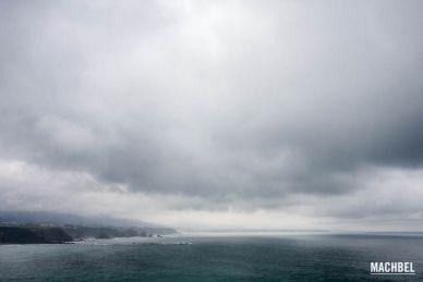 Cabos de la costa asturiana