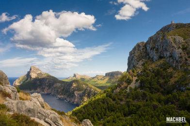 Recorrido por Formentor, al norte de Mallorca, Islas Baleares