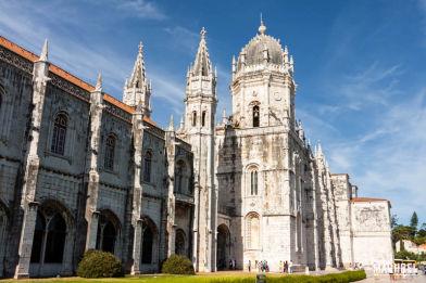 Monasterio de los Jerónimos, monumento Patrimonio de la Humanidad en Lisboa, Portugal