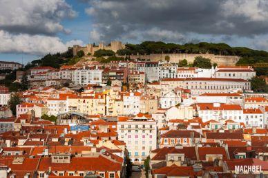 Recorrido por el barrio de la Alfama y centro de Lisboa, Portugal