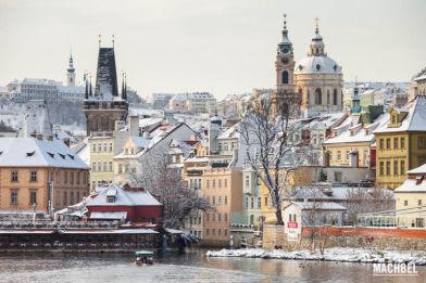 Recorrido por el barrio viejo o Malá Strana de Praga, República Checa