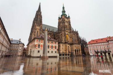 Visita a la Catedral de Praga, República Checa