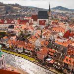 Visita al pueblo de Cesky Krumlov, República Checa, Europa