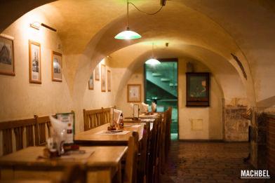 Cervecería Medvídků en Praga, República Checa