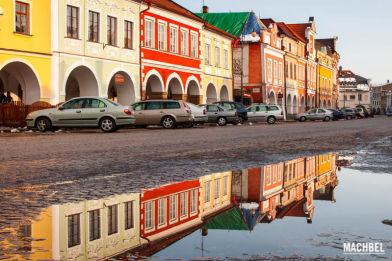 Visita al pueblo de Litomyšl, cuna del compositor Smetana. República Checa
