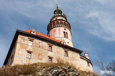 Visita al castillo de Cesky Krumlov, República Checa, Europa