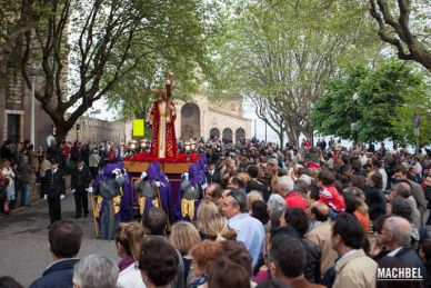 """Procesiones en Gijón de """"El encuentro Camino del Calvario"""" y """"Vía Crucis del Santo Cristo de la Misericordia y de los Mártires"""""""
