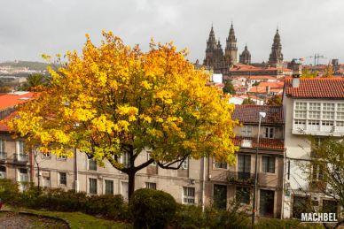 Visita a Santiago de Compostela, capital de Galicia, España