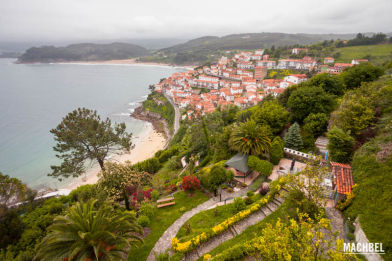 Casa mirador sobre Lastres, Asturias, España