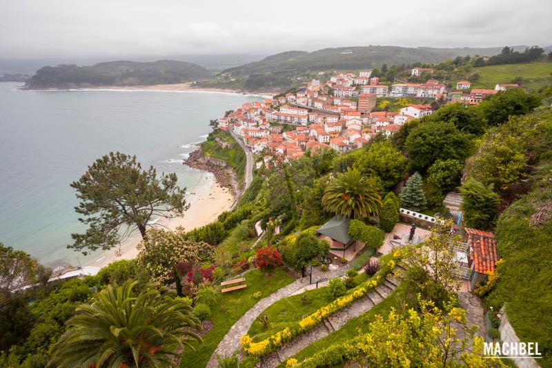 La casa con el jard n monumental de lastres machbel for Casa jardin asturias