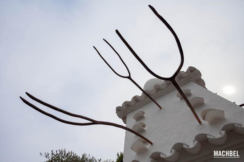 Casa Museo Salvador Dalí en Portlligat, cerca de Cadaqués. Cataluña, España
