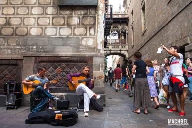 Instantes de Barcelona, capital de Cataluña, España