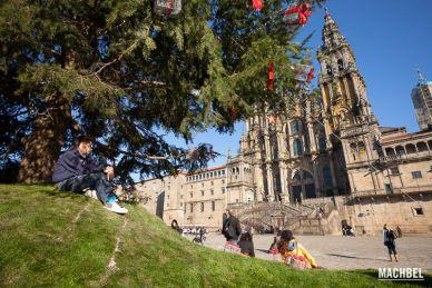 Recorrido fotográfico por Santiago de Compostela, ciudad en Galicia, España