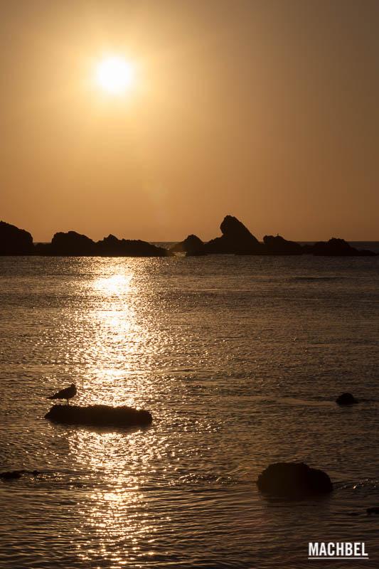 Foto de la playa del Silencio, Asturias, España