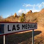 Las Médulas, mina romana patrimonio de la humanidad. Ponferrada, Castilla y León, España
