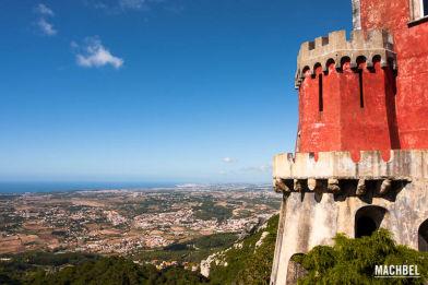 Castillo da Pena en Sintra, Portugal. Patrimonio de la Humanidad