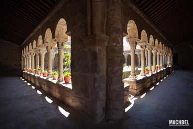 Roda de Isábena, pueblo y catedral. Huesca, Aragón, España