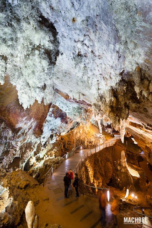 Visita a la cueva el Soplao, Cantabria, España