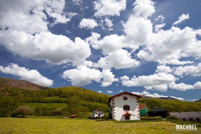 Maya (Amaiur), pueblo de Navarra en el valle del Baztán. España