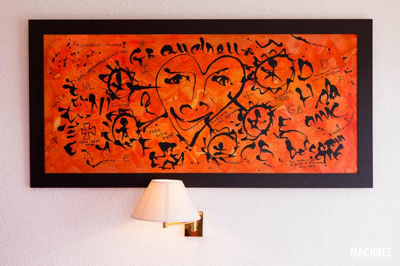 El cuadro de la habitación 906 Hotel Amic Horizonte en Palma de Mallorca Islas Baleares España La blogroom del Hotel Amic Horizonte en Palma de Mallorca