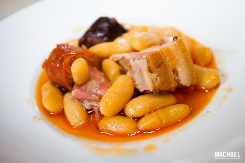 Fabada Asturiana (Restaurante El Puerto, Gijón)