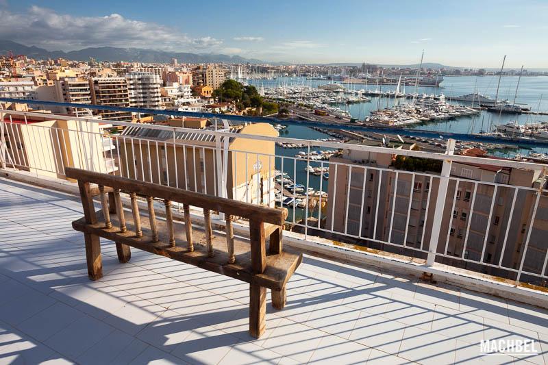 Mirador del Hotel Horizonte Hotel Amic Horizonte en Palma de Mallorca Islas Baleares España La blogroom del Hotel Amic Horizonte en Palma de Mallorca