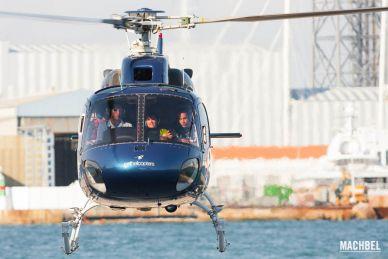 Paseo en Helicóptero sobre la ciudad de Barcelona, Cataluña