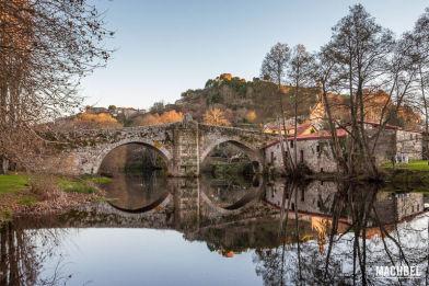 Visita al pueblo de Allariz, Ourense, Galicia, España