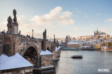 Instantes en Praga, capital de República Checa