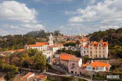 Sintra, Portugal. Visita al Palacio Nacional de Sintra, Palacio da Pena, Quinta Regaleira y Castelo dos Mouros