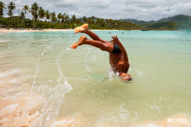 Playa Rincón, playa paradisiaca bandera azul en Samaná, República Dominicana
