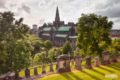 Necrópolis cementerio de Glasgow, Escocia