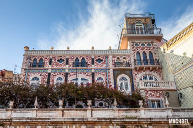Palacio del Siglo X)X reconvertido en lujoso hotel. Lisboa, Portugal