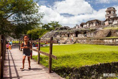 Ruinas Mayas Patrimonio de la Humanidad de Palenque, Chiapas, México