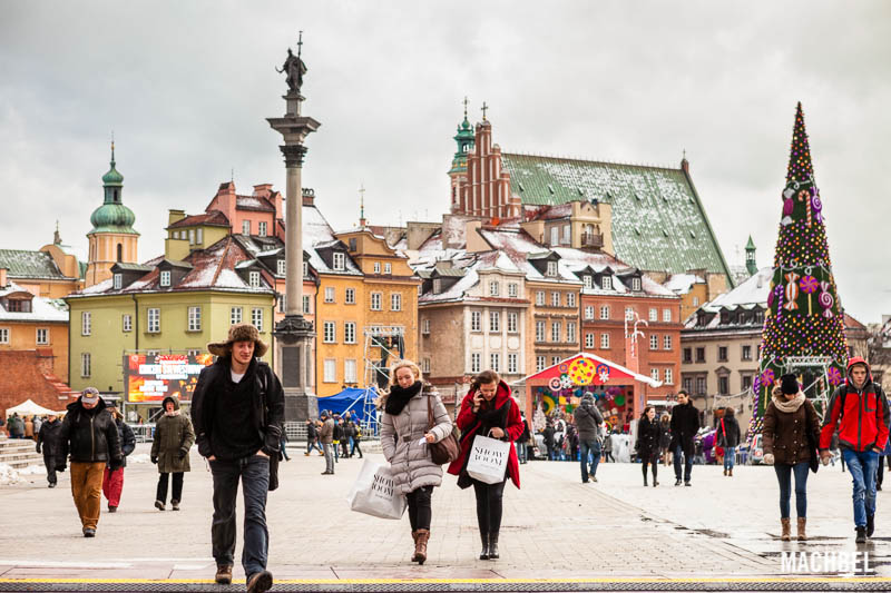 Varsovia dando la bienvenida al invierno en la capital de for Oficina turismo polonia