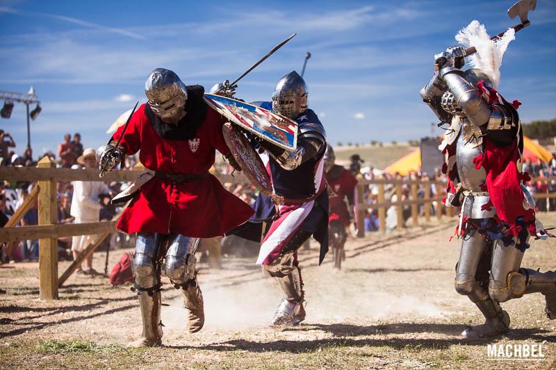 Campeonato del mundo de lucha medieval de Belmonte 2014
