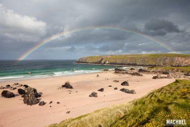 Arco Iris en Escocia, Gran Bretaña by machbel