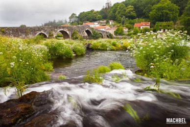 Camino de Santiago hasta Fisterra. Galicia by machbel.com