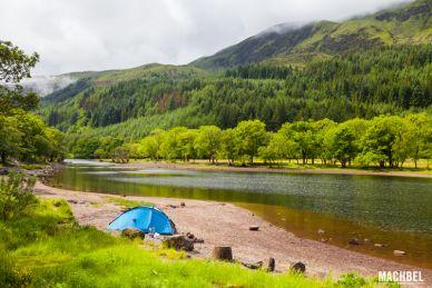 Acampar en Escocia Reino Unido by machbel